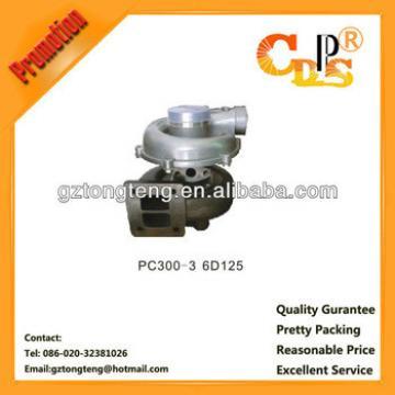 PC300-3 turbocharger 6152-81-8410 For Engine Model S6D125