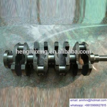 For KOMATSU 6D108 engines spare parts crankshaft cast iron/forged steel 6222-31-1101 for sale with high quality