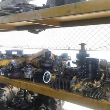 USED KOMATSU SA6D108 ENGINE PARTS CRANKSHAFT FUEL INJECTION PUMP COVER ROD
