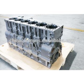 long block engine Komatsu SAA6D114E-3 cylinder block