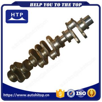 Advanced Engine Spare Parts Forged Crankshaft With Gear For Komatsu 6D125 6151-31-1110