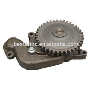 Excavator oil pump 6136521210 6136-52-1210 for KOMATSU 6D105 engine