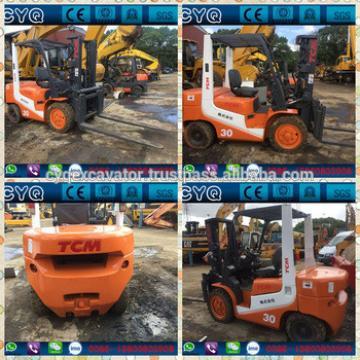 Used TCM 3t forklift TCM FD30T6 diesel forklift for sale (whatsapp: 0086-15800802908)