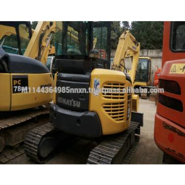 KOMATSU PC55MR-2 used hitachi mini excavator for sale