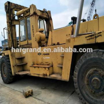 Good Condition secondhand Japanese engine 40 ton Forklift FD400 for sale