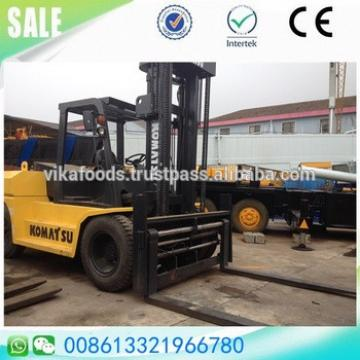 Used Good condition Komatsu fd150-7 15t ton diesel forklift japan made sale in Shanghai