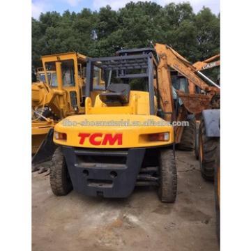 Used TCM 15 ton diesel forklift, FD150S, 4 m mast height