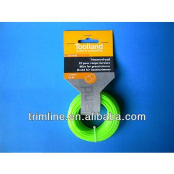 nylon trimmer line for brush cutter with card head packing