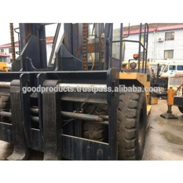 Used Japanese forklift komatsu 30 ton for sale , FD300 , Diesel Engine
