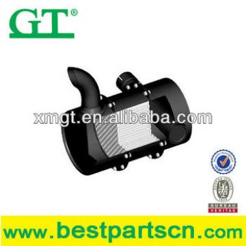 OEM quality muffler PC40 PC40-8 PW100-3A small PW100-3S middle PW100S Big PC200-3 Air filter shell muffler