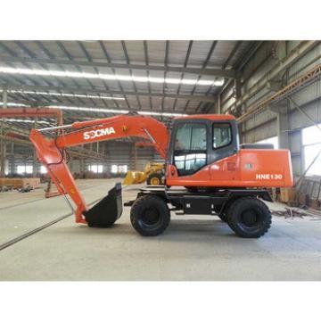 SOCMA hydraulic wheel excavator supplier vs used excavator