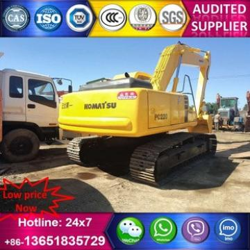CE&BV 20 tons japan made hydrauclic crawler used excavator pc220-6