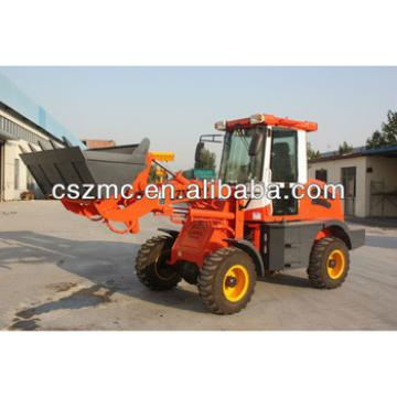electric mini compact wheel loader 912 wheel loader with 4WD Euro3 engine hydraulic joystick for exporting quick hitch