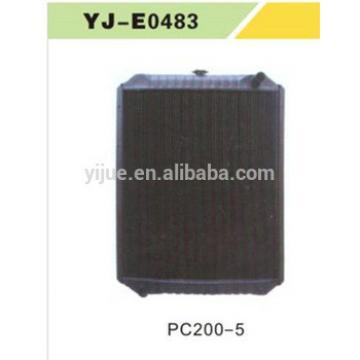 200-5 Excavator Water Radiator hydraulic Engine assembly OEM