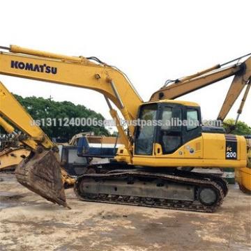 Used Excavator Komatsu PC200-7 Excavator For Sale Good Condition Japan