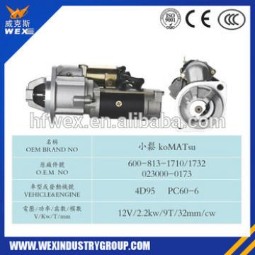 Fit For Komatsu PC60 S4D95 Engine Starter,0230000121,0230000260,6008131710