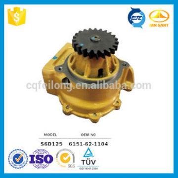 6D125 Water Pump Assy for Komatsu,6151-62-1104
