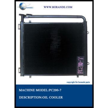 excavator hydraulic oil cooler PC200-7