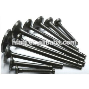 Stellited machine for engine valve, inlet valve for engine valve