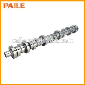 Forged steel and chilled cast iron camshaft for diesel engine 6D105 6137411120