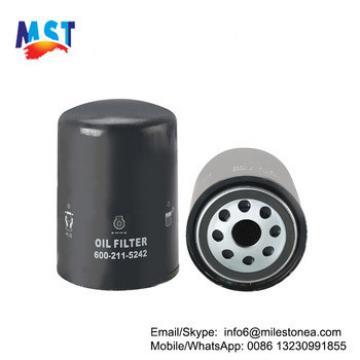 Diesel engine forklift oil filter 600-211-5242 for excavator