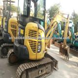 KOMATSU PC30MR-2 used mini excavator Japan's original mini excavator pile driver in shanghai for sale